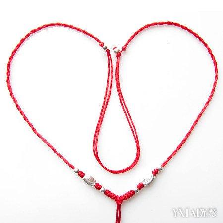 【图】盘点红绳项链吊坠编法 3种编法让你爱不释手