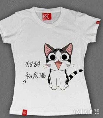 简单漂亮的手绘t恤