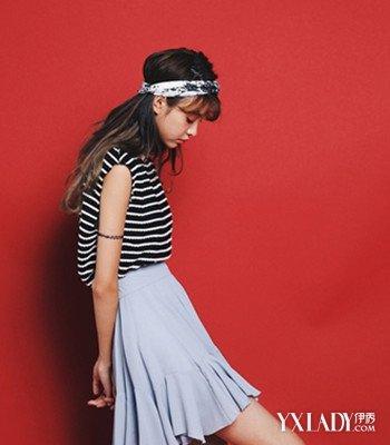 【图】初中女生白丝配学院图片欣赏3款短裙风初于创文的中关黑板报图片