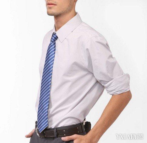 白色衬衫配什么颜色的领带推荐 4款搭配让你阳光帅气