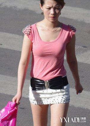 【图】抄底街拍短裙美女 夏日短裙美女需谨慎