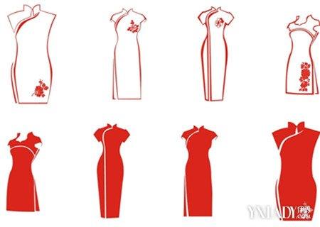 服装设计旗袍图欣赏 了解旗袍文化图片