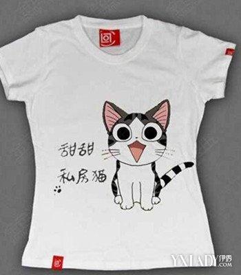 t恤搭配彩绘图案十分可爱 3款时尚彩绘t恤让你爱不释手