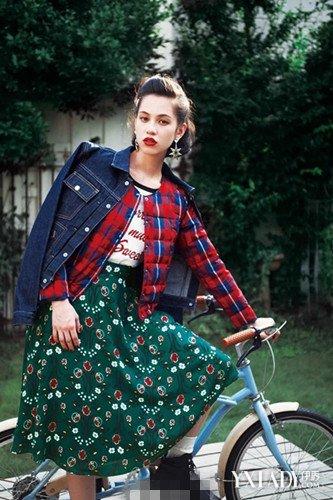水原希子冬季街拍新出炉 共同欣赏时尚缪斯的穿搭时尚图片