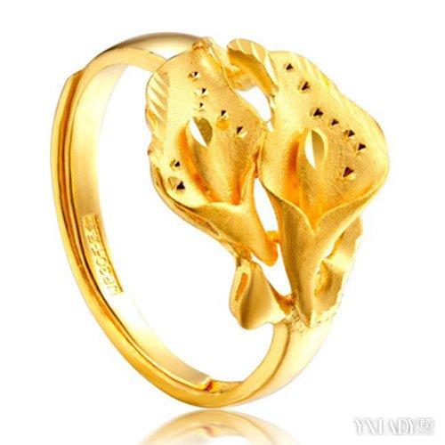老凤祥女士黄金戒指样式大盘点 高品质样式新倍受欢迎图片