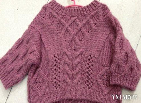 【图】纯手工编织毛衣教程图片