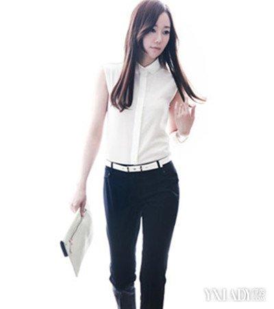 【图】白大全职业装美女图片美女变身a大全职网址衬衣馆薄情图片