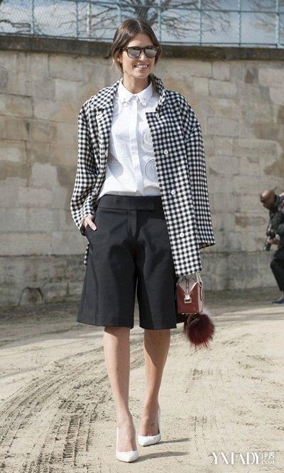 大脚裤的搭配图片欣赏  4种完美搭配炫出你的时尚风采