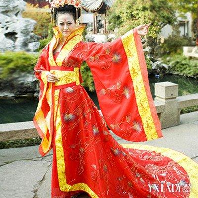 古代皇后服装图片欣赏 皇后服饰华丽过人致嫔妃想上位?