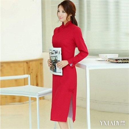 纯色旗袍裙鉴赏 了解旗袍裙的历史及设计剪裁