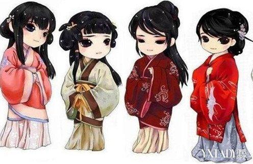 贵族动漫手绘服装