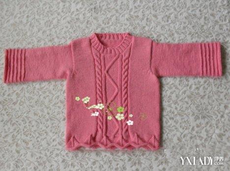 【图】儿童外套钩织图解教程 小编7招教你编织漂亮宝宝外套