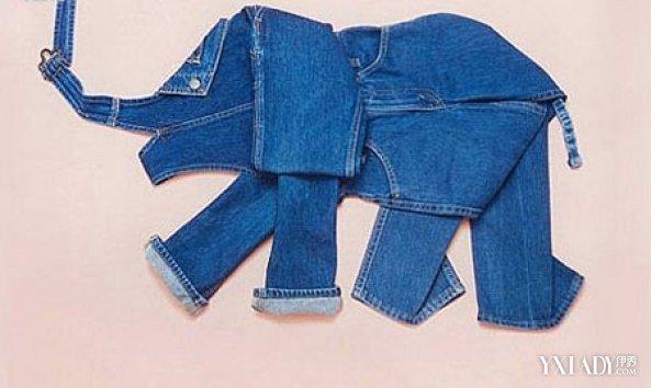 衣服花样叠法-牛仔裤折放方法大全 折叠方法隐含的意义