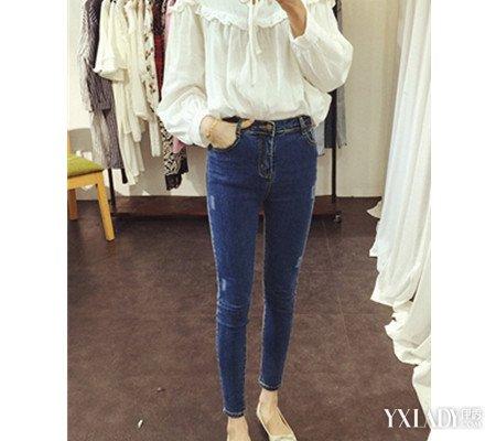 穿牛仔紧身裤的女人图片欣赏 4款牛仔裤搭配让你展现好身材