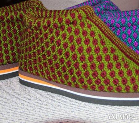 【图】展示织毛线棉鞋花样图纸
