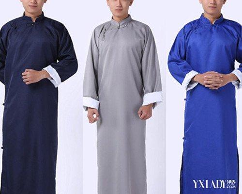 【图】汉服长衫 不一样的美男子图片