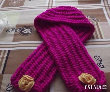手工编织围巾—鱼骨针-手织围巾款式介绍 快给你的冬天增加一点温暖
