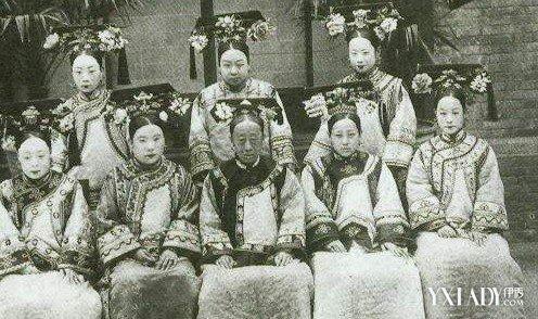 【图】清朝嫔妃服饰图片