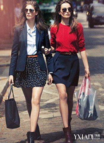 盘点欧美英伦风女生街拍 4种搭配既时尚又潮流图片