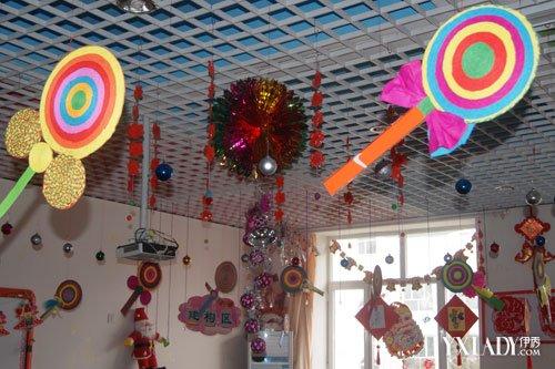 【图】幼儿园折纸吊饰活动