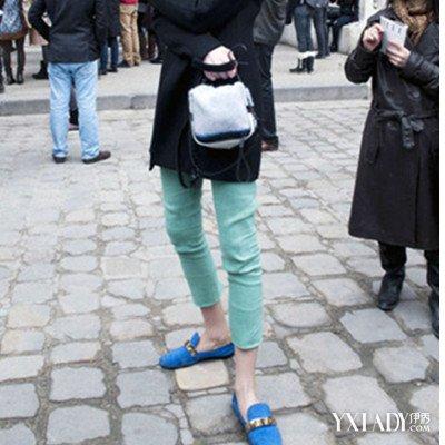 【图】蓝鞋子搭配技巧