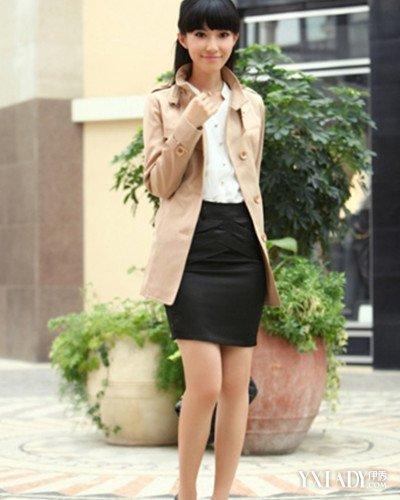 韩版时尚风衣_图韩版街拍风衣4款爆款韩版风衣尽显时尚