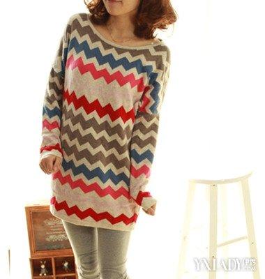 【图】女式毛衣编织花样上千种
