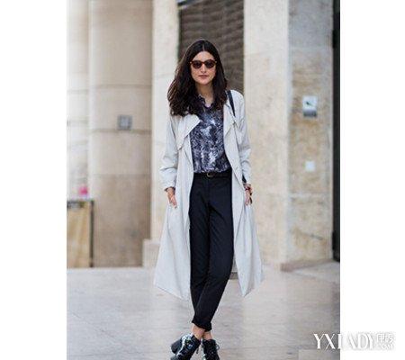 【图】黑裤子配什么上衣 更让你显轻奢_黑裤子