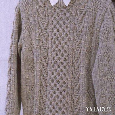【图】男士毛衣编织款式
