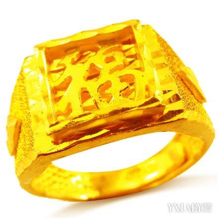 【图】金戒指图片男士欣赏 教你怎样挑选好的金戒指