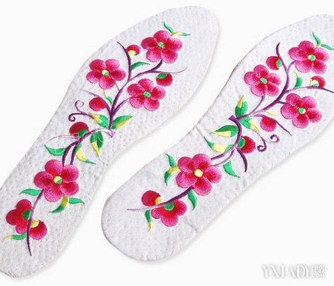 绣花鞋垫图案大全 重现中国风特色