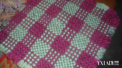 【图】毛线编织坐垫图片