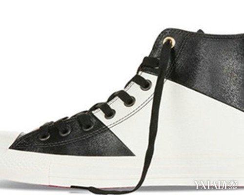 【图】高帮帆布鞋鞋带系法图片图片