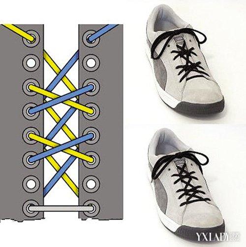 【图】鞋带系法大全 多种方式轻松学习图片