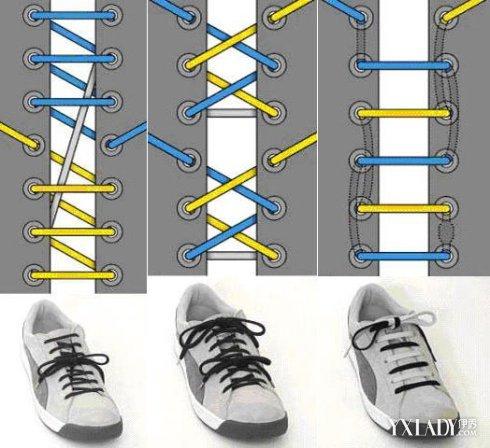【图】多种隐藏鞋带的系法图解 手把手教会你怎么把鞋带隐藏图片