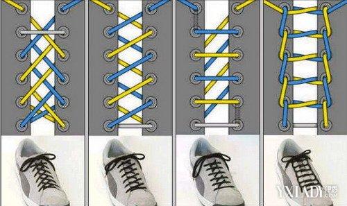 【图】一字鞋带的系法图解 手把手教你各种鞋带绑法图片