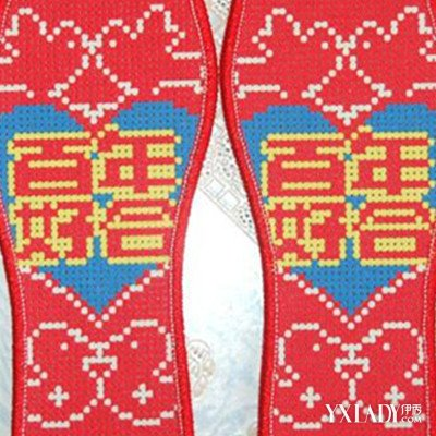 【图】针孔十字绣鞋垫图片欣赏