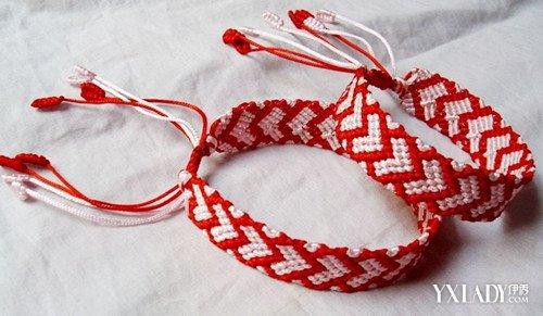 【图】编绳手链的方法图解 教你编一个漂亮的手链