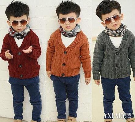【图】男宝宝毛衣编织款式图片 男童秋冬毛衣童装也要