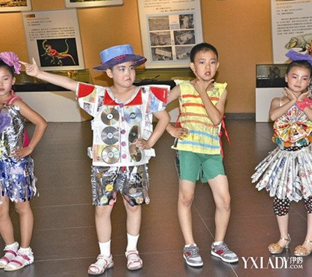 儿童环保服装图片欣赏 7步教你制作环保服装
