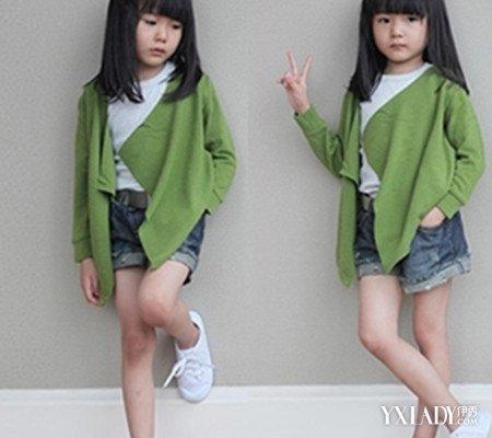 【图】4款女儿童毛衣编织款式