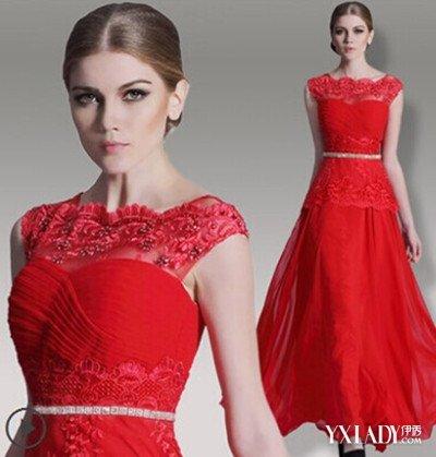 【图】薇拉红色晚礼服造型图片