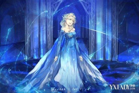 【图】冰雪奇缘艾莎公主裙受追捧