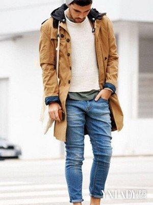 【图】2015流行男士牛仔裤秋季搭配方法:帅气牛仔裤