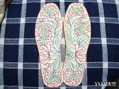【图】荷花鞋垫图案大全 介绍荷花鞋垫的特点