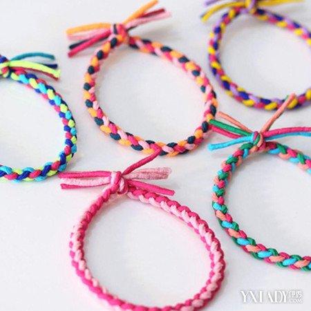 【图】简单手链的编法大全 4种手链的编方法