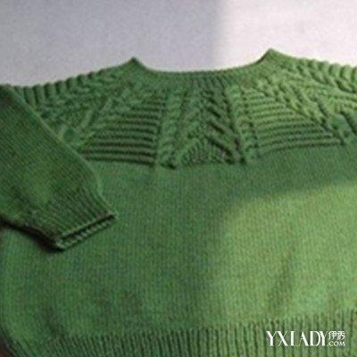 【图】手工编织宝宝毛衣