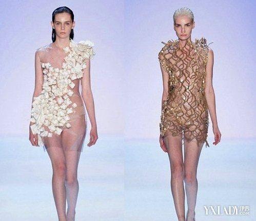 【图】米兰时装秀透明薄纱 透视装引领时尚