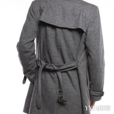 风衣后面腰带系法图解_风衣后面带怎么系