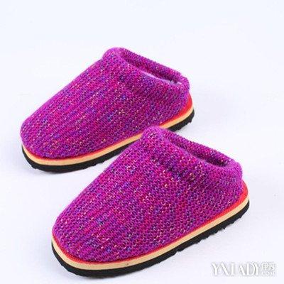 【图】毛线编织拖鞋图片大全